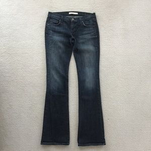 FREEDOM OF CHOICE BOOT CUT BLUE JEANS SIZE 27